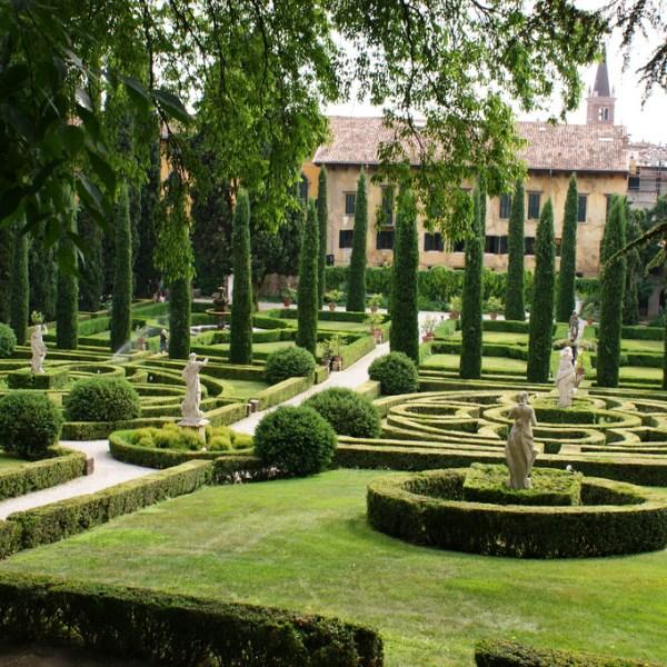 Jardín Giardino Giusti de Verona