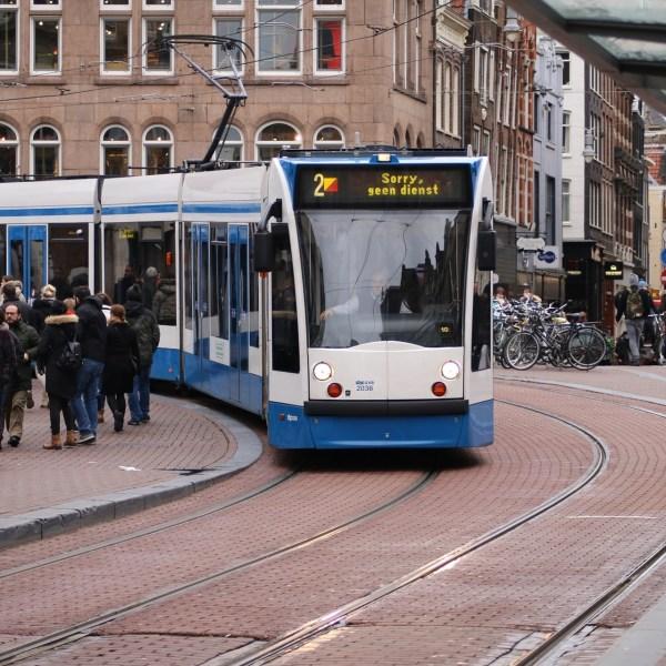 Tranvías de Amsterdam