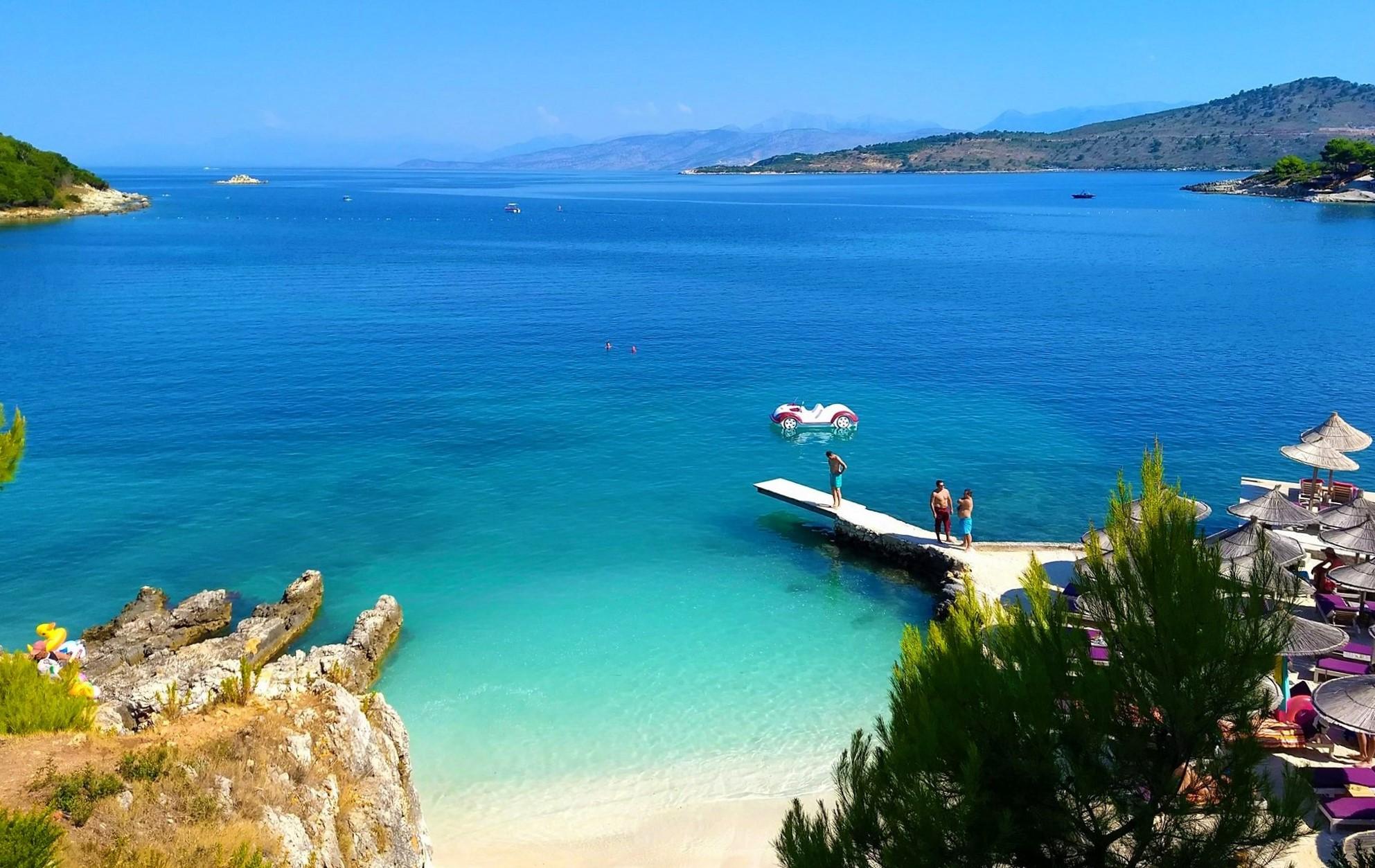 Ksamili beaches - best beaches of Albania