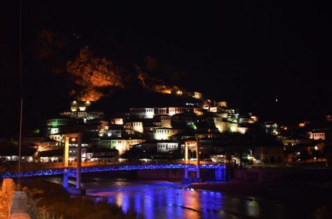 Magical Berati by night