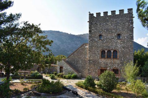 Venetian castle in Butrint, Albania