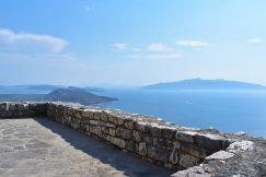 View from Lëkurësi Castle over Ksamili islands and Corfu