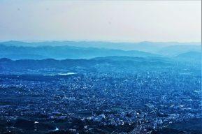 View of Tirana high above from Dajti Mountain
