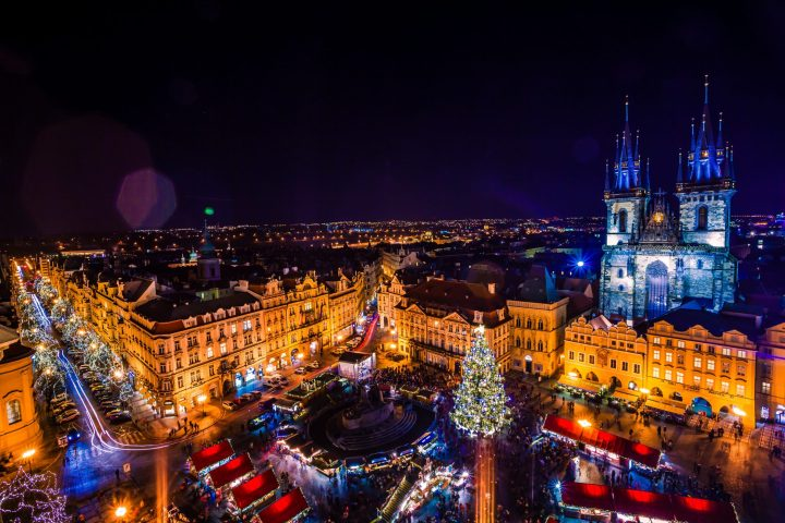 Christmas Market in Prague is also one of the best Christmas markets in Europe