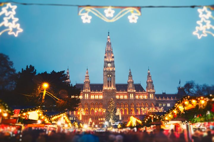 Christmas Market in Vienna - one of the best Christmas markets in Europe