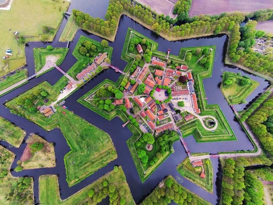 Amazing village-fortress Bourtange