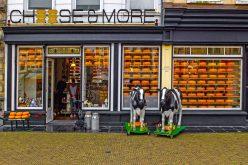 Tienda de quesos en el centro de Delft