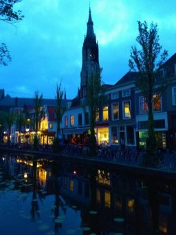 Evening in Delft