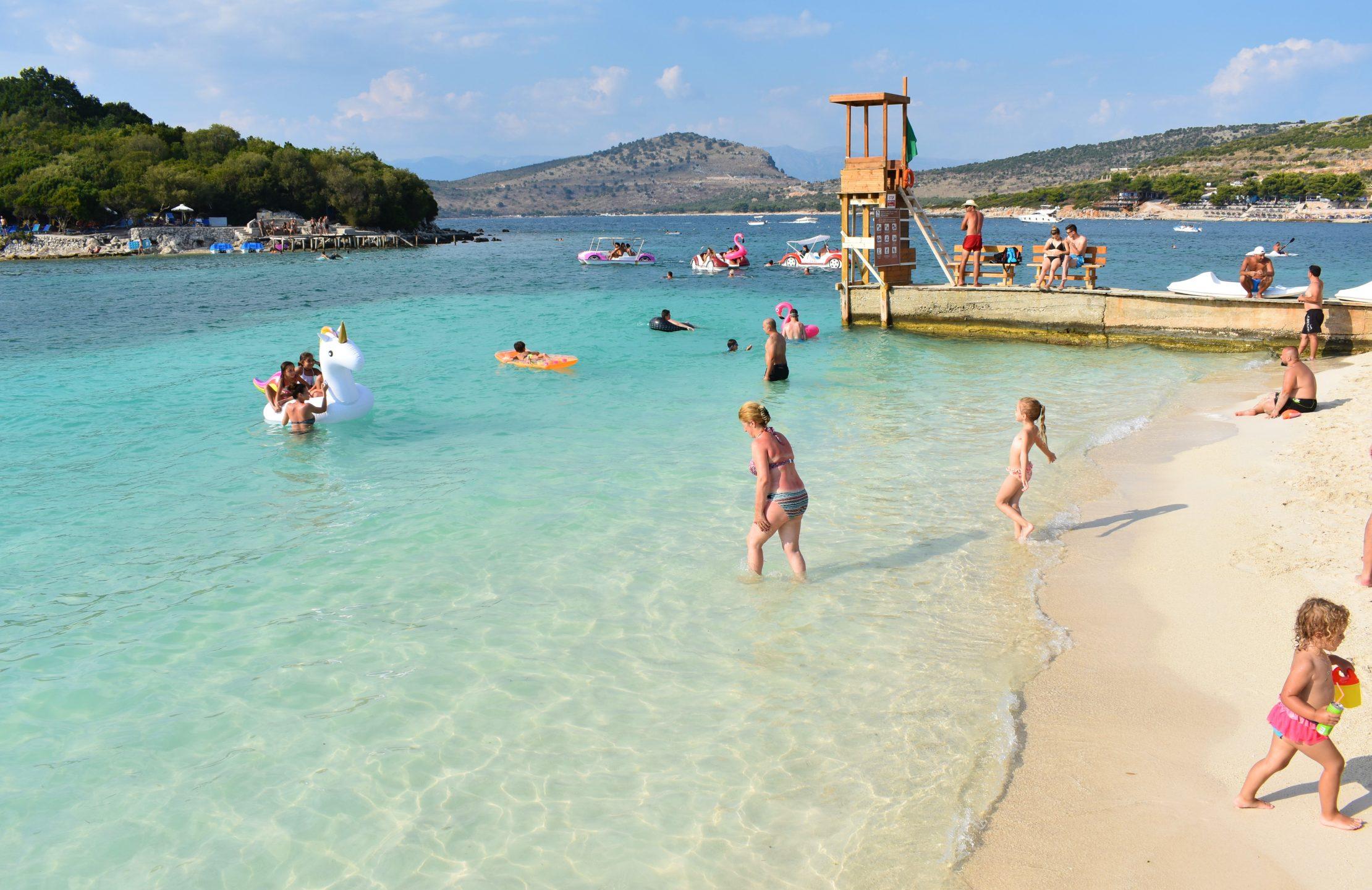 Vacaciones familiares en Ksamil, Albania