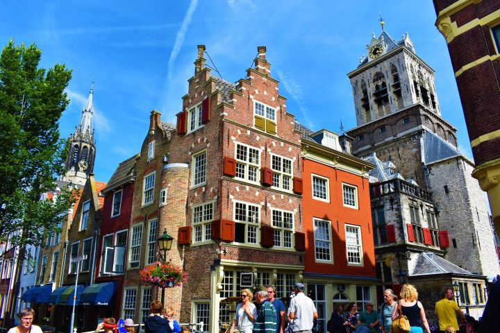 Historical buildings of Delft