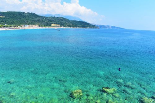 Is it safe to travel to Albania? Yes! Spectacular sea in Livadhi, Albania
