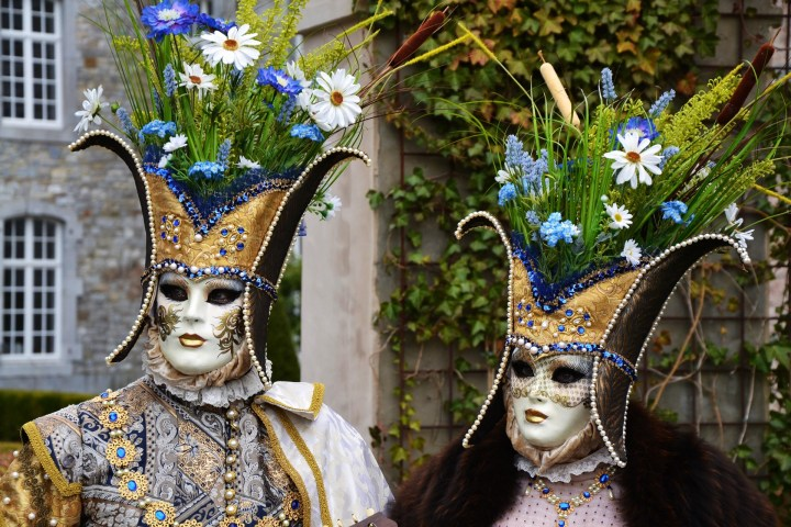 Boundless fantasy of the Venetian masks