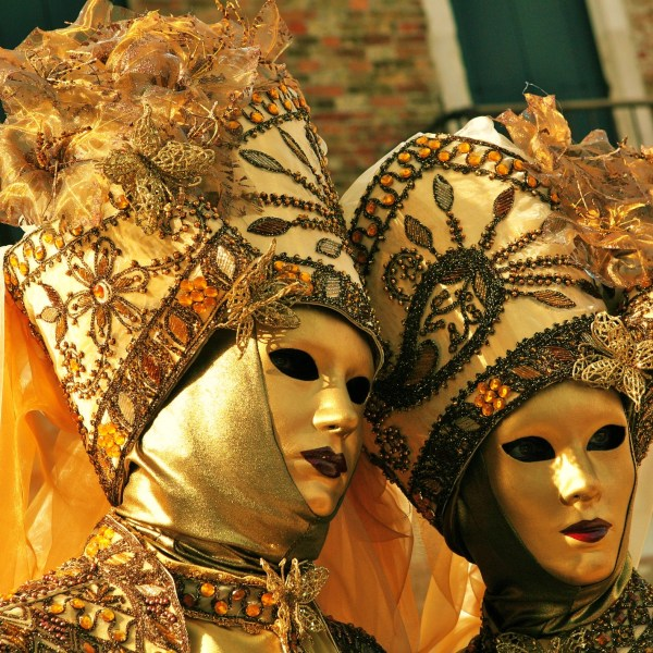 Incredibly ornate costumes and headwear