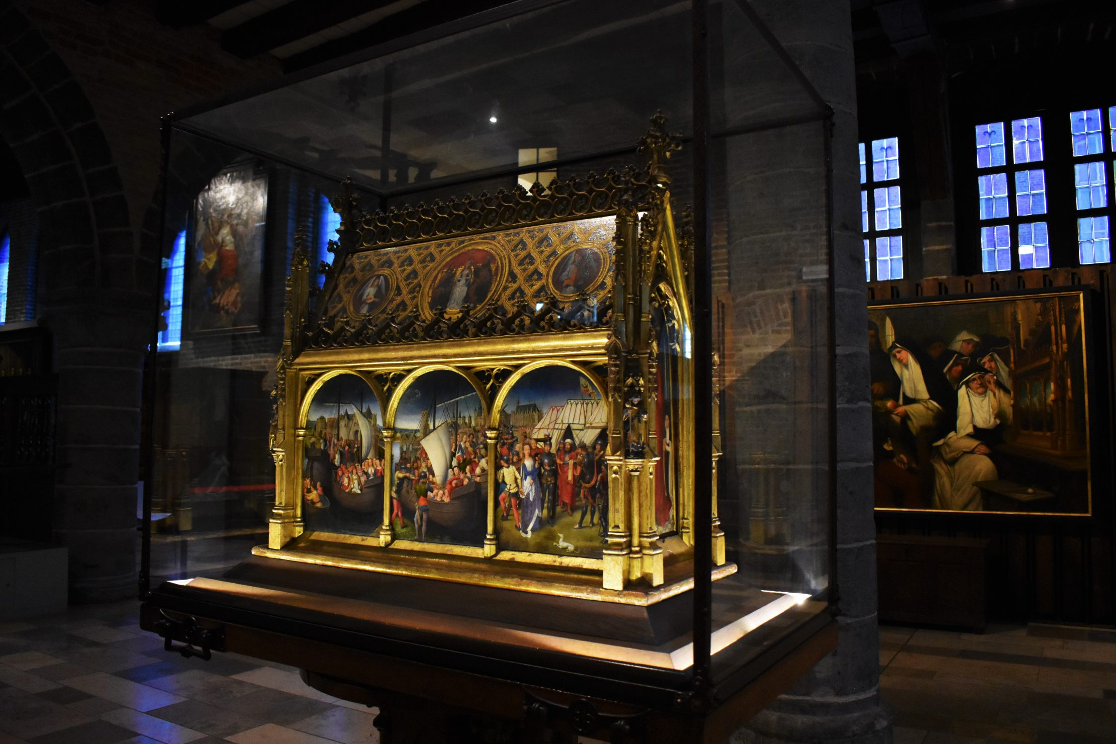 Masterpiece of Hans Memling - Shrine of St Ursula in Sint-Janshospitaal