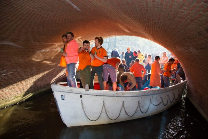 Boat party - the ultimate King's Day experience!