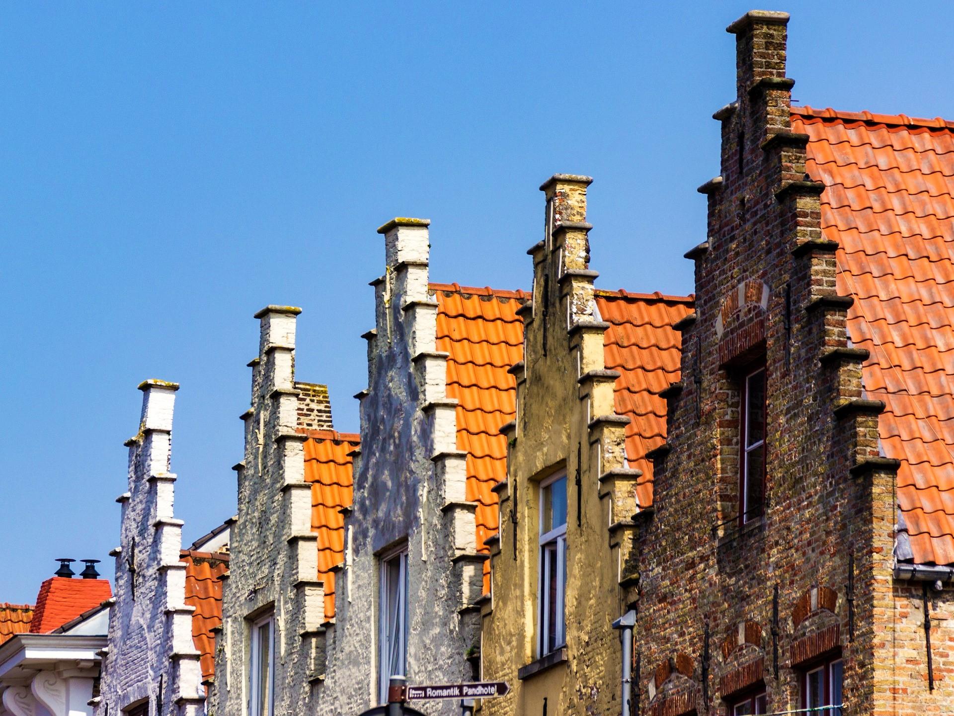 Almshouses in Bruges - Bruges top attractions