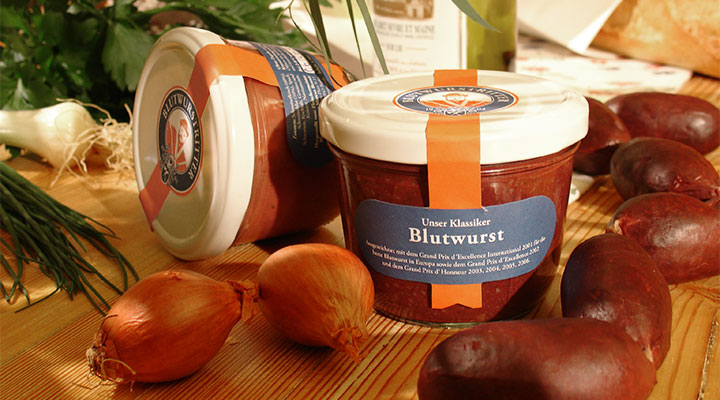 Blutwurst from Blutwurstmanufaktur in Berlin (photo by Blutwurstmanufaktur)