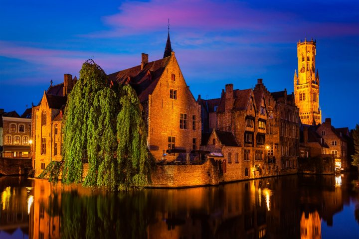 Rozenhoedkaai in Bruges - the most famous spot of the city - 15 best things to do in Bruges