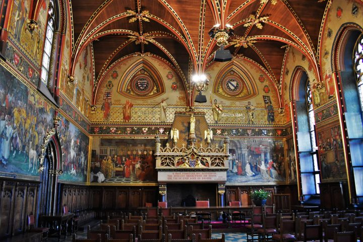 Spectacular interiors of the City Hall of Bruges - 15 best things to do in Bruges