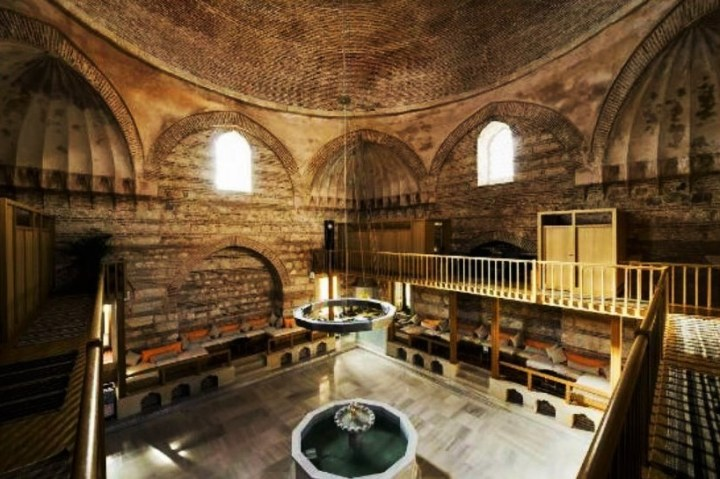 Turkish bath - Kılıç Ali Paşa Hamamı in Istanbul