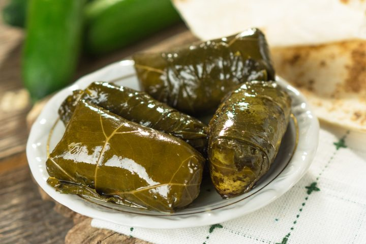 Vegan dolma or dolmadakia