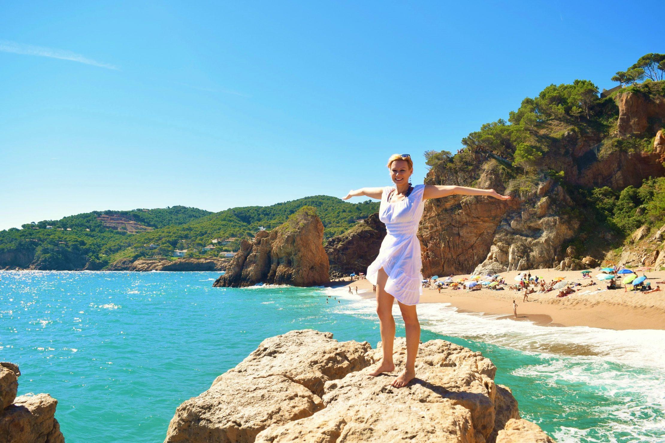 Best beaches in Costa Brava - photo copyright Malgorzata Kmita euroviajar.com