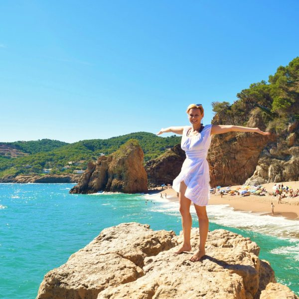 Best beaches in Costa Brava - photo copyright Malgorzata Kmita euroviajar.com