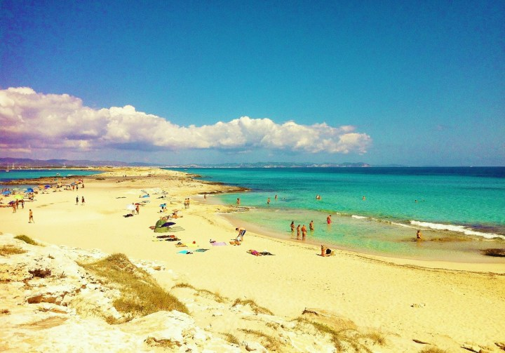 Ses Illetes in Formentera, Balearic Islands - one of the best beaches in Spain
