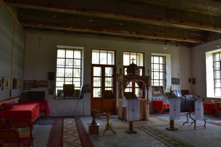 Interior of the Church of St. George in Berat