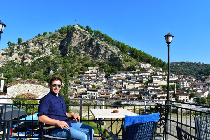 Ready for breakfast with a view? Hotel Ajka, Berat, Albania