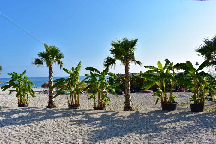 Playa de Dhermi en Albania