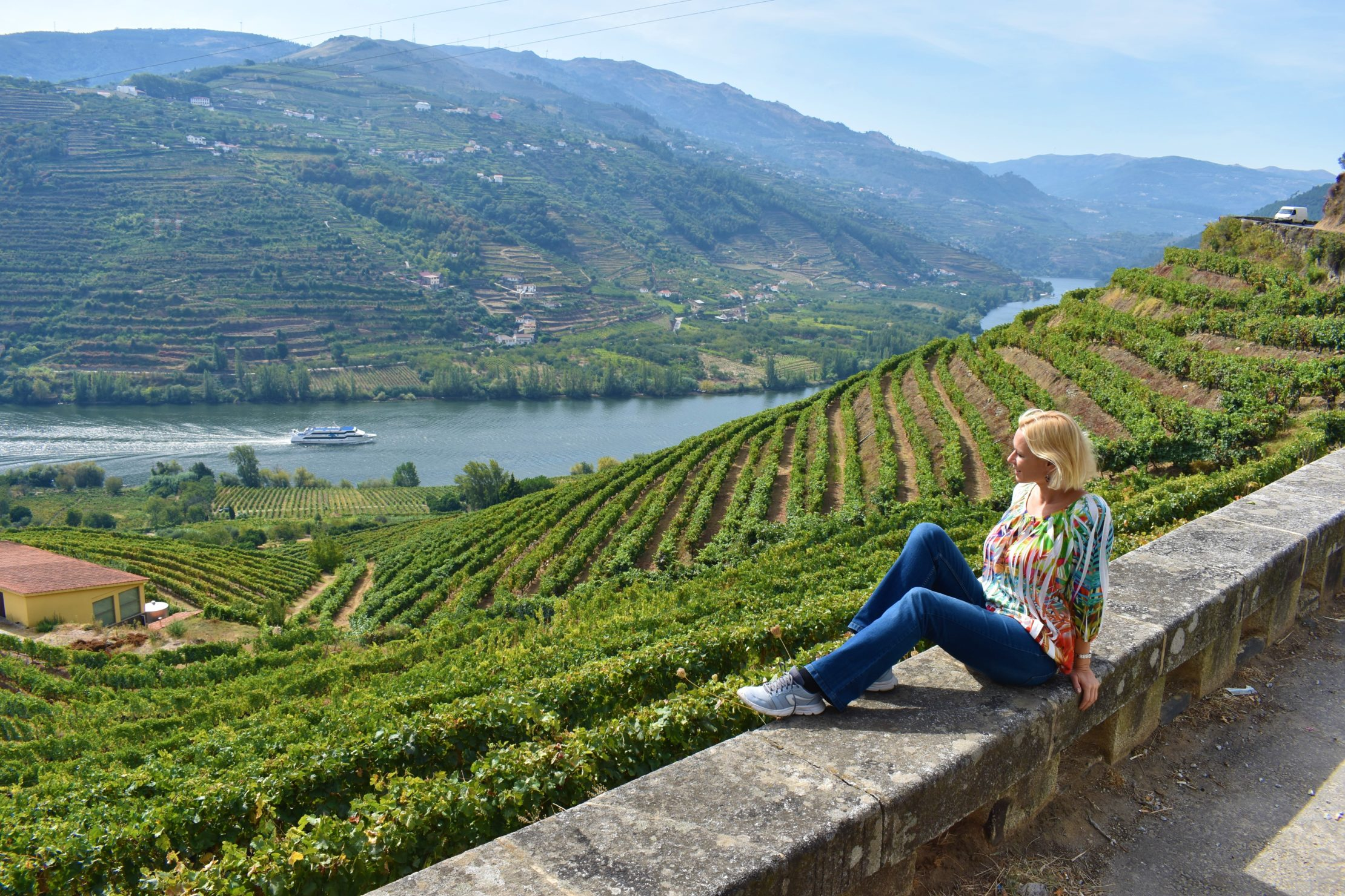 The Douro Valley vinyards in Portugal