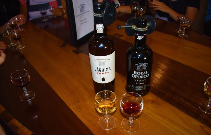 White port and my personal favourite - tawny port
