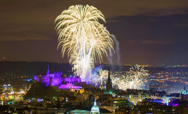 Hogmanay - fantastic 3-day NYE celebration in Edinburgh, Scotland, UK - best New Year's Eve in Europe