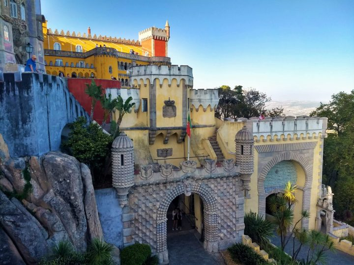 Infinitely many details embellishing Pena Palace make it truly remarkable