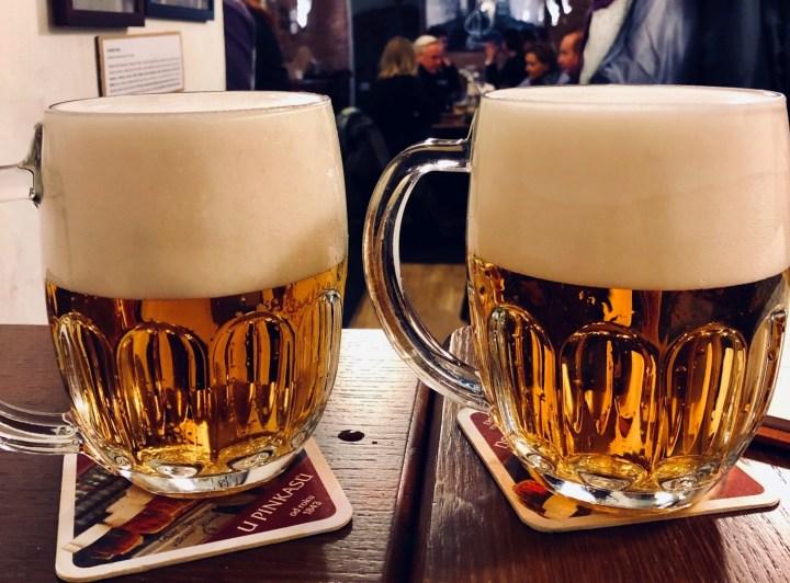 Pilsner - typical Czech beer
