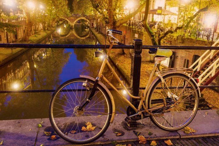 Autumn in Utrecht, South Holland, Netherlands