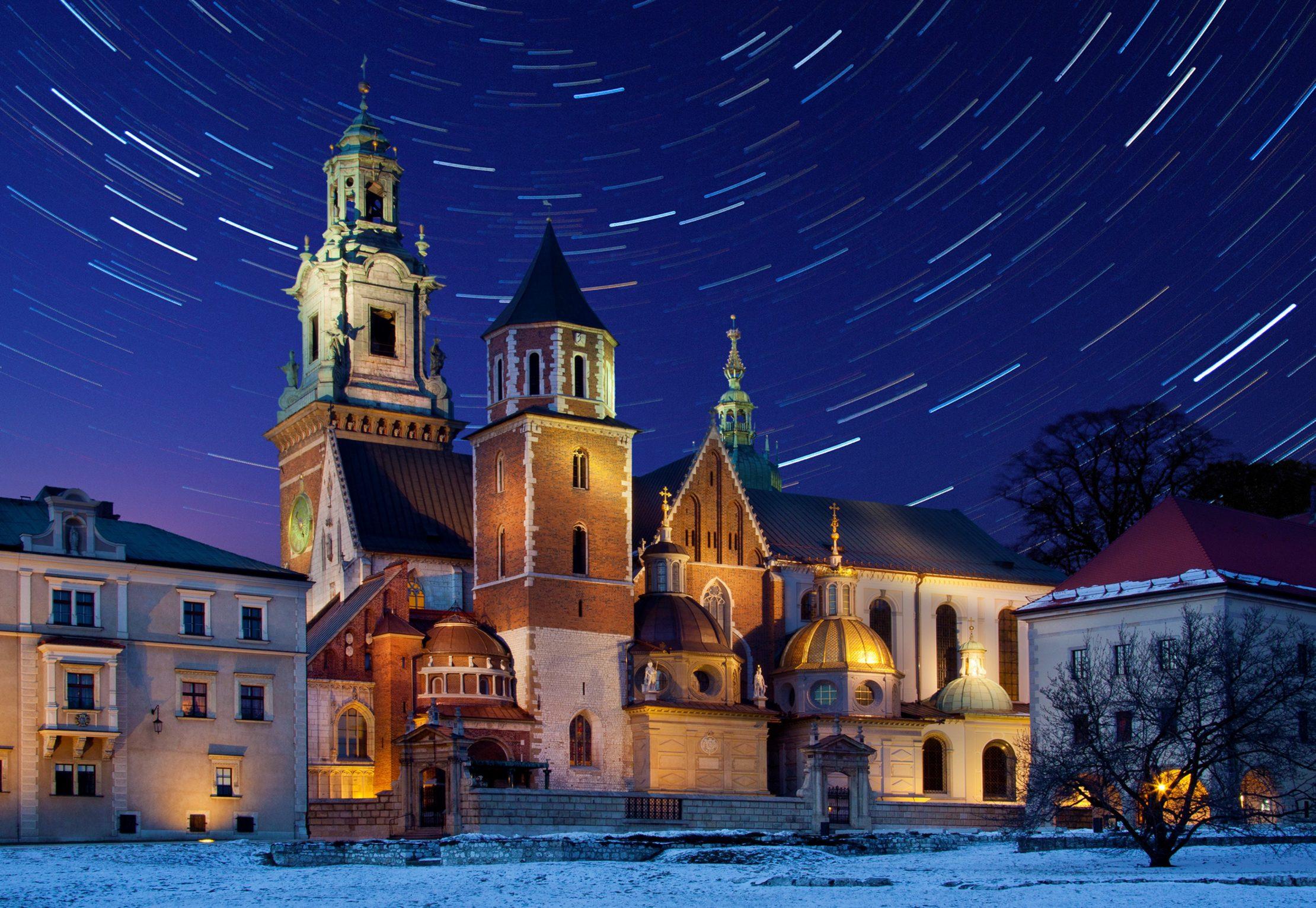 Maravillosa Cracovia durante el Invierno, una de las ciudades más románticas de Europa