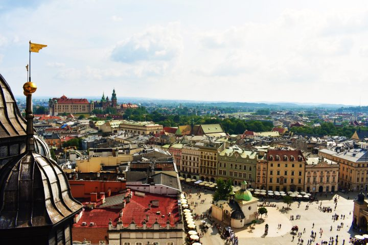 Poland's most famous city - enchanting medieval Krakow is bustling with life in every season
