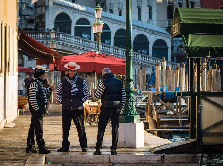 According to centuries-long tradition, only men could be gondoliers - until now