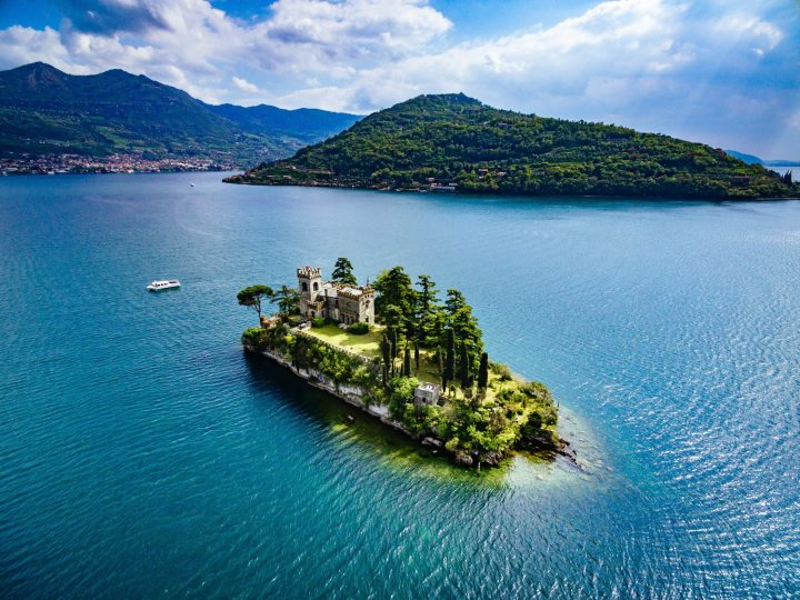 Private island - Isola di Loreto on Iseo Lake, northern Italy - Beautiful Photos of Italy