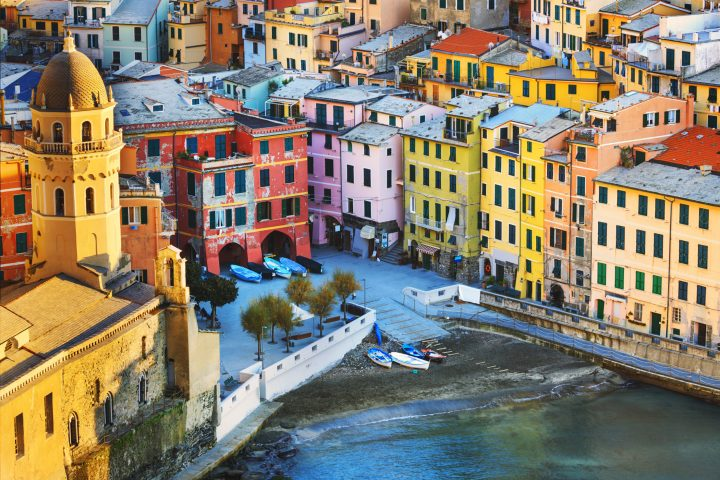 United colours of Vernazza, Cinque Terre, Italy - Beautiful Photos of Italy