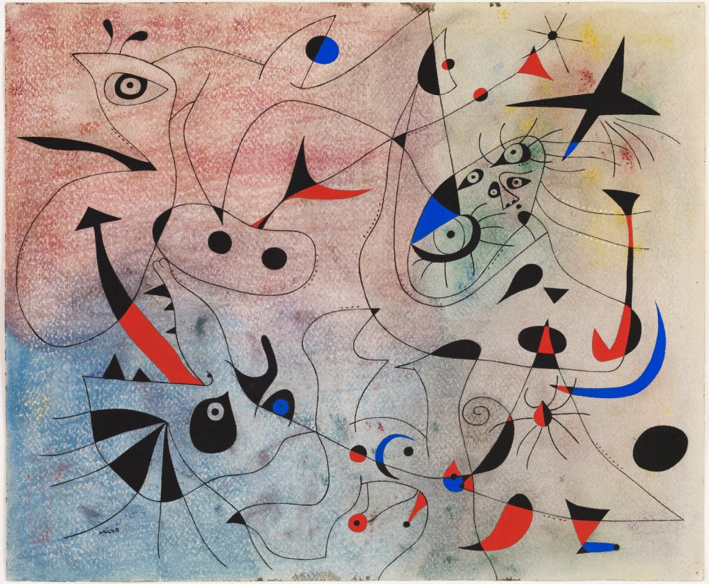 Joan Miró, Morning star, 1940 - copyright The Fundació Joan Miró www.fmirobcn.org