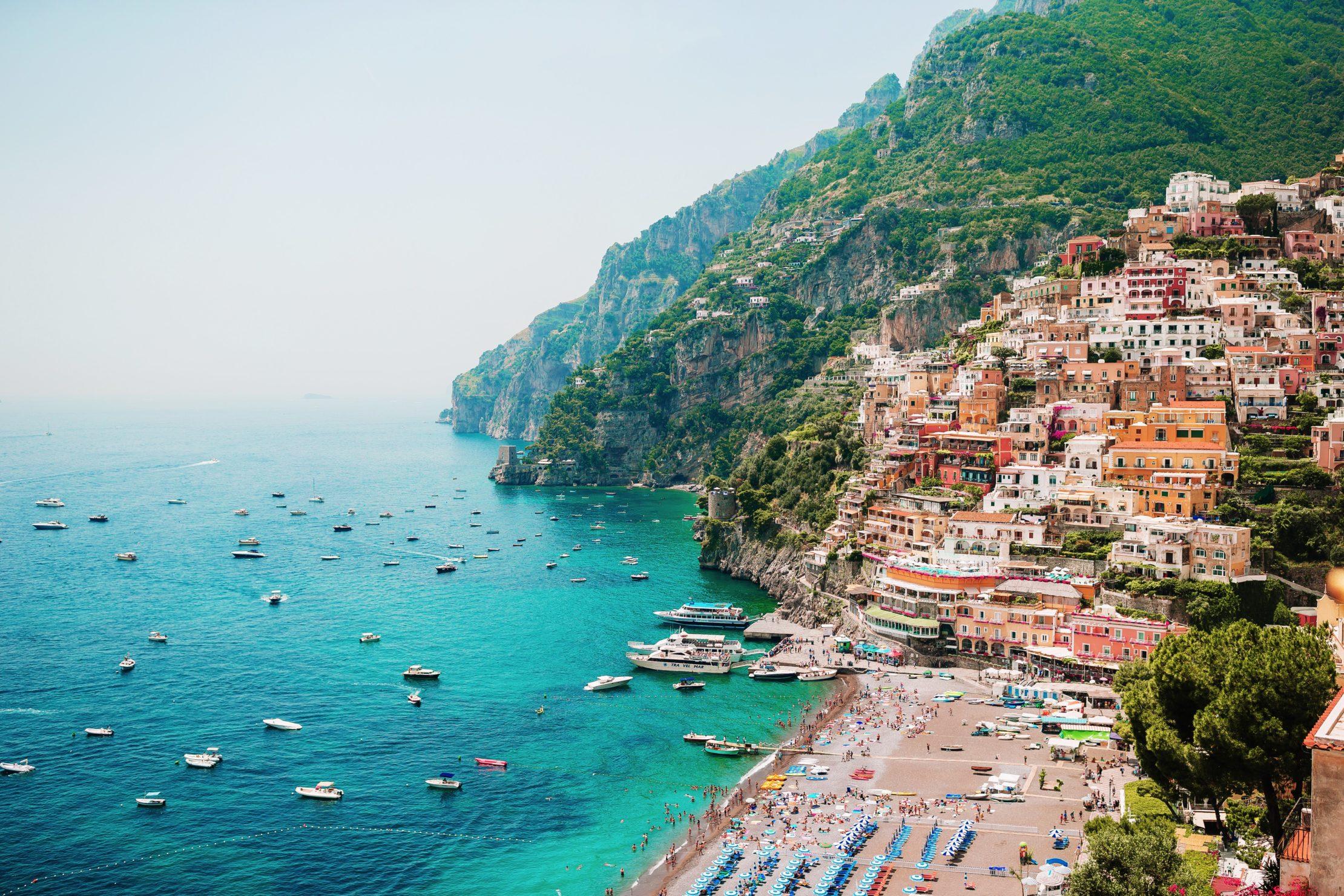 Positano, costa de Amalfi