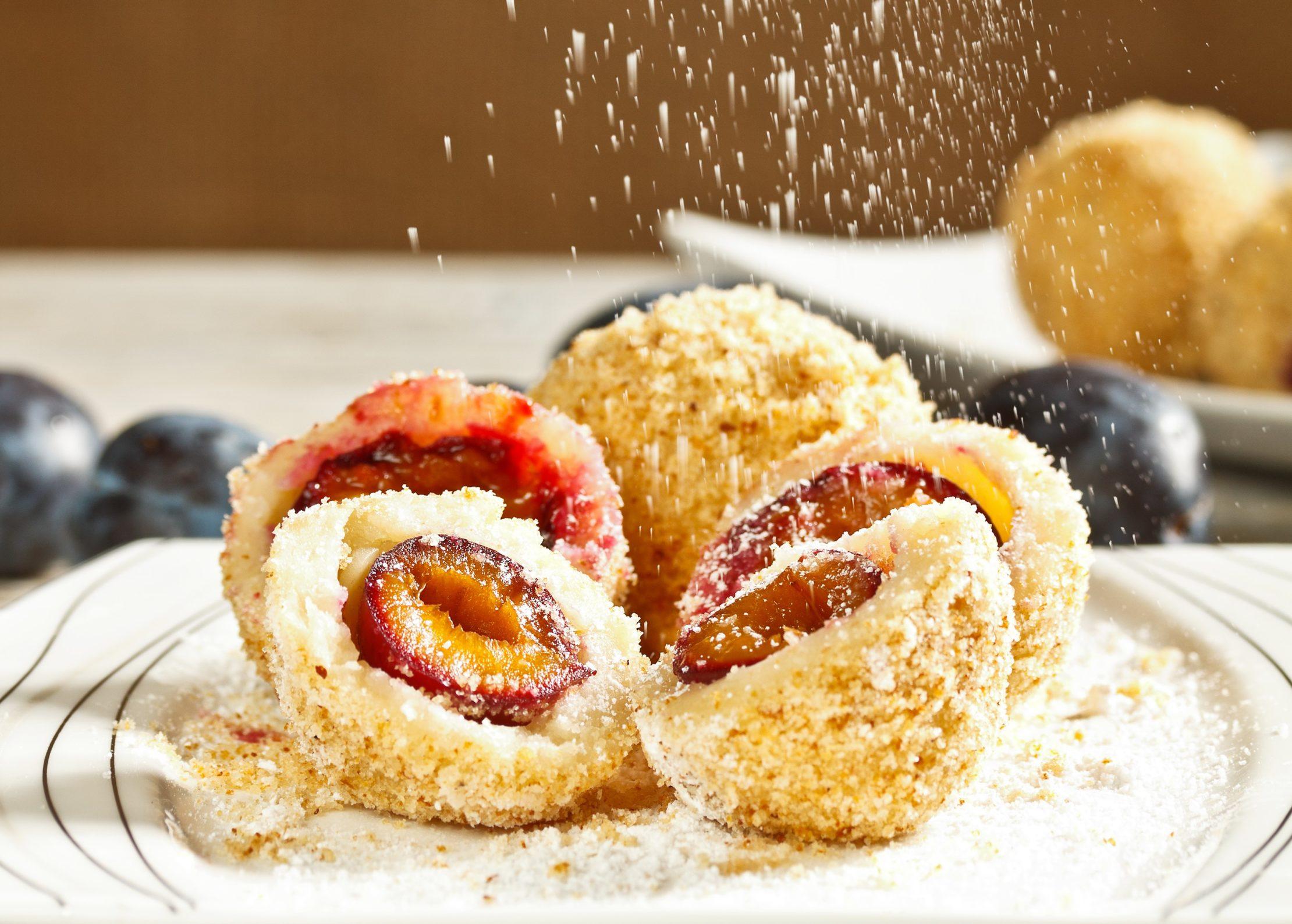 Dumplings de ciruelas - Švestkové Knedlíky