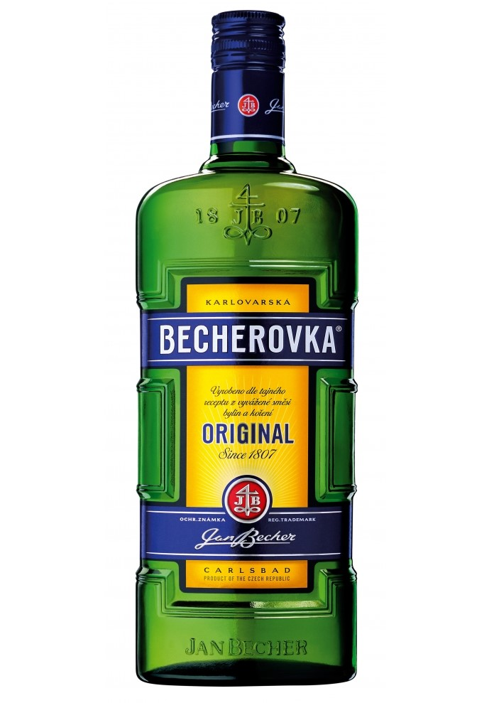 Licor Becherovka