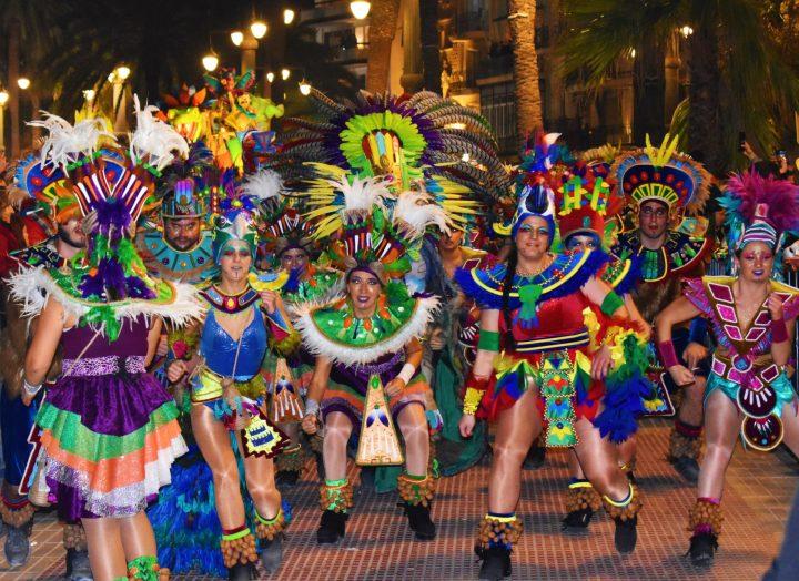 Rua de la Disbauxa (Debauchery Parade) at Sitges Carnival
