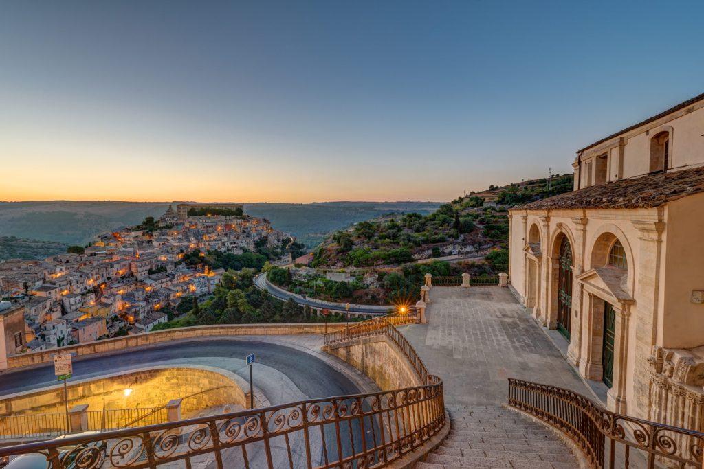 Ragusa Ibla, espectacular distrito histórico de Ragusa en Sicilia
