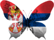 Serbie-papillon