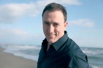 Sergej à la mer... toujours souriant